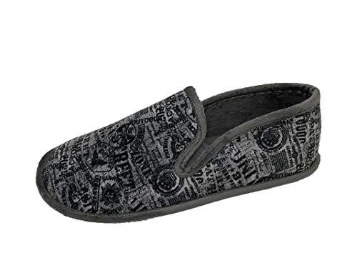 Zapatillas de Estar por casa/Hombre/Biorelax/Cerradas de Talón/Color Gris...