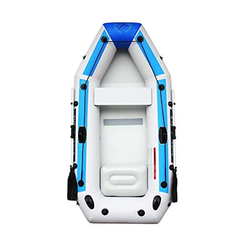 Silai 3-4 personen kajakken Opblaasbare boot Verdikte vissersboot Met peddel, luchtpomp (Kleur : 8903990090)