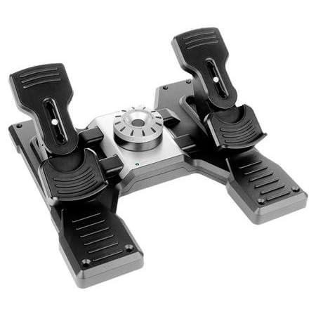 ロジクール (Logicool) トーブレーキ搭載 プロ ラダーペダル シミューレーション コントローラー G-PF-RP