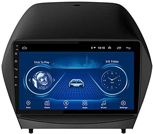 WY-CAR 2.5D IPS Android 8.1 4 Kern A7 1.3GHz Auto DVD Radio GPS Navigation Für Hyundai IX35 Tucson 2010-2013 Stereo Audio Navi Video Mit Bluetooth Anrufe WiFi Touchscreen