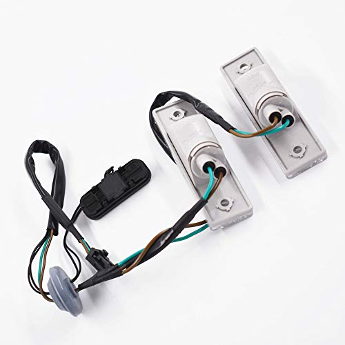 labwork Rear Trunk Release Switch + Licence Plate Lamp 96951097 for 2011-2014 Chevrolet Cruze