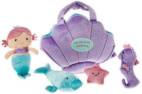Baby GUND My First Mermaid Adventure Stuffed Plush Playset, 10
