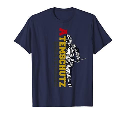 Feuerwehr Atemschutzgeräteträger Retten Löschen Bergen T-Shirt
