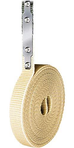 Schellenberg 44301 Rollladengurt Reparaturset Gurtfix 14 mm breit (System MINI), 4,3 m, Beige