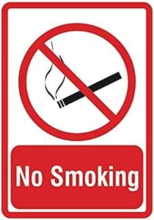 no smoking labels signs