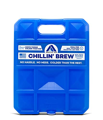 Arctic Ice Alaskan Series Reusable Cooler Pack, 0.75-Pound, Blue (1209)