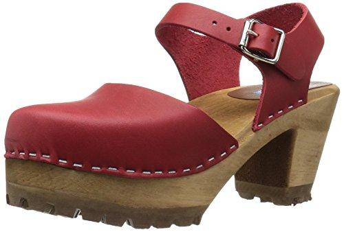 Mia de la mujer Abba clog-inspired Sandal