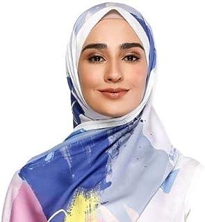 حجاب أوشحة للنساء - أغطية رأس عمامة للأزياء المسلمة، شالات طويلة خفيفة الوزن للنساء السود
