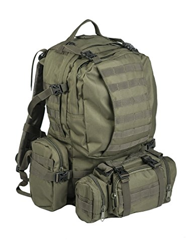 Mil tec Od Defense Pack Assembly: Mochila de Senderismo  estilo militar  color verde