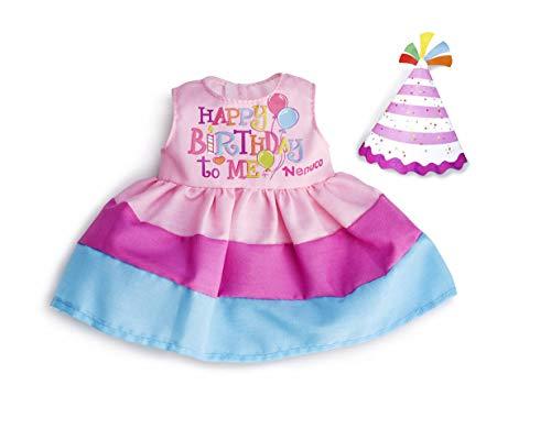Nenuco - Abito da Compleanno Bambola, 700015616