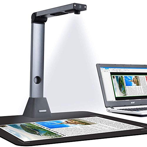 New HD 10 Mega Pixels Document Camera Scanner USB A4 High Speed Portable Visualizer Presenter