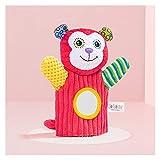 Handpuppen Baby Spielzeug 0 12 Monate Neugeborene Infant Handpuppe Weiche Plüsch Rattles Pädagogische Spielzeug Handbell Baby Rasseln Mobiltelefone Puppen Geschenk (Color : 3, Height : 11cm 30cm)