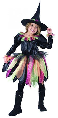 Générique Déguisement Sorcière Enfant Halloween 7 à 9 Ans