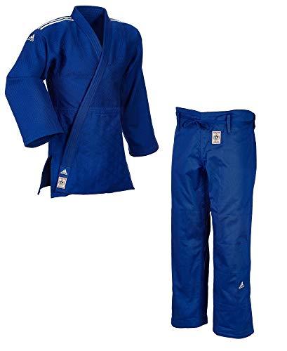 Adidas - Judogi j730IJF Champion II, Slim fit, turquesa, CM 170