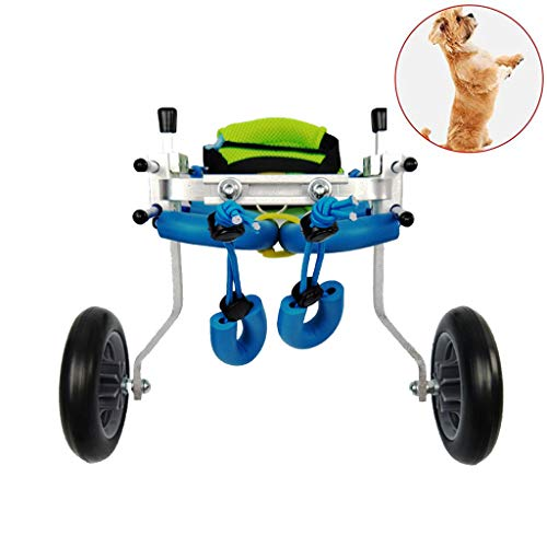 Dog Wheelchair, Dog Wheelchair Back Legs Walking Frame with Wheels Best Friend Joint Aid for Dogs Cat Exercise Wheel Support Wheelchairs,Dog Mobility Harness