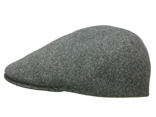 Kangol Homme Casquette plate Seamless Wool 507 gris