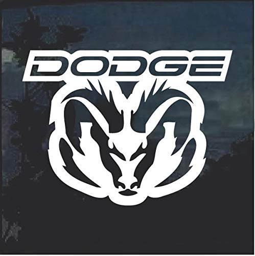 SUPERSTICKI compatibel voor Dodge Ram ca 20 cm Tuning Decal Racing Sport Sticker Sticker Muurtattoo