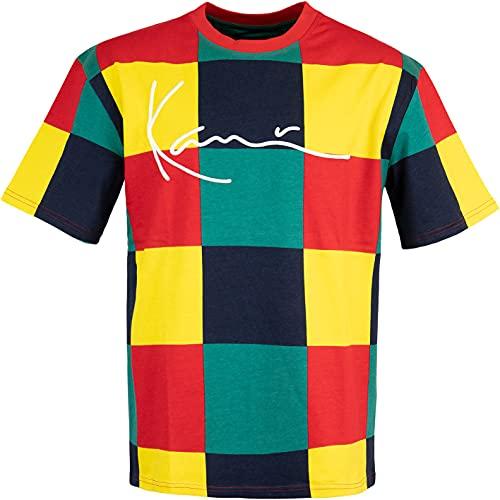Karl Kani Signature Block T-Shirt (M, red/Green/Yellow)