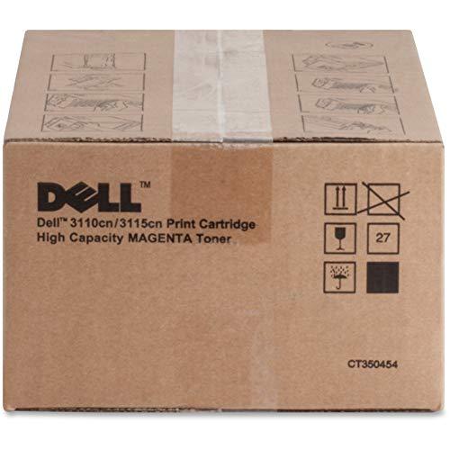 Dell Tonerkassette mit hoher Kapazität für 8.000 Seiten für Dell 3110cn Colour Laser Drucker Magenta