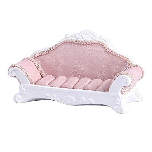 Schöne Veranstalter Ring Halter Display Stand Mini Couch Stuhl Halter Rosa