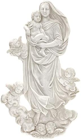 Design Max 58% OFF Toscano Bombing free shipping Raphael's Sistine Antique Wall Madonna Sculpture