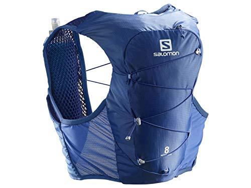 SALOMON Active Skin 8 Set Tagesrucksack, Blau (nebulas Blue), S