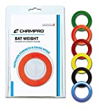 Champro Bat Weight Blister Pack (Green, 8-Ounce)
