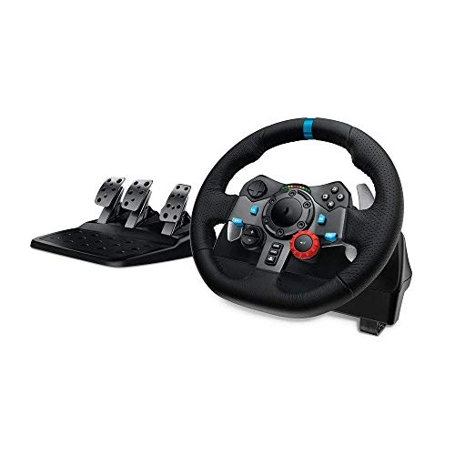 WSMLA Apex Racing Wheel for PC Wheel et 4/3, Jeu de Volant, Driving Force Racing Volant et pédales (PS4 / PS3 et PC)