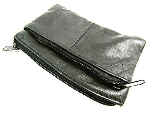 Mesdames Petit Femme Homme En Cuir Véritable Sac à main Pochette pour monnaie clé carte portefeuille