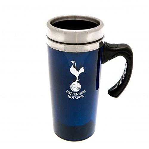 Isolierbecher / Reisebecher Tottenham Hotspur FC, offizielles Fanartikel, Aluminium, tolles Geschenk für verschiedene Anlässe und Personen