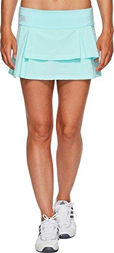 adidas - Falda de tenis para mujer - F1707W952, S, rojo (Energy Aqua/Layered)