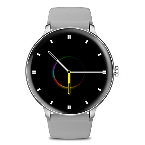 Blackview X2 Smartwatch Orologio Fitness Uomo Donna Impermeabile 5ATM Smart Watch Cardiofrequenzimetro da Polso Contapassi Smartband Activity Tracker Bambini Cronometro per Android iOS (44mm)