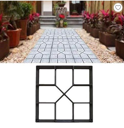 Chemin Maker moule Pierre, bricolage pavage béton Stepping Stone moule pour Parcs Patio Jardin Pelouse Décoration de chemin