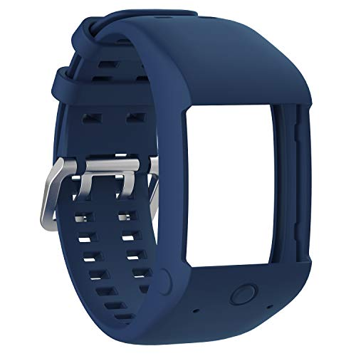 XIHAMA Band voor Polar M600 Sport Horloge, Siliconen Vervanging Band Polsband Fitness Armband