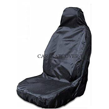 VAUXHALL INSIGNIA Heavy Duty Black Waterproof Car Seat Covers 2 x Fronts