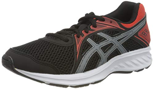 ASICS Jolt 2 Running Shoe, Black/Sheet Rock, 39 EU