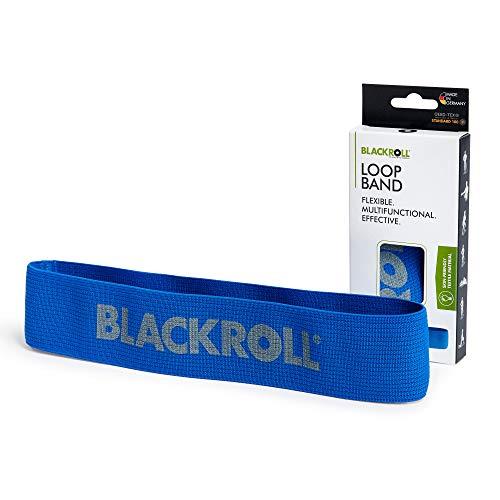 BLACKROLL® LOOP BAND - blue - Fitnessband. Trainingsband/Gymnastikband/Sportband für eine stabile Muskulatur mit starker Dehnbarkeit in blau