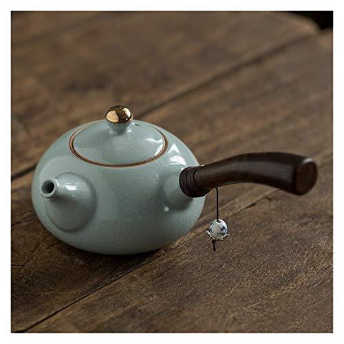Awsspd Teekannen Keramische Teekanne Seitengriff Teekanne Tee-Sets 220ml drinkware (Color : 2)