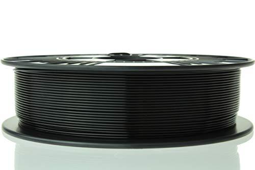 Material 4 Print PLA Filament 1,75 mm 750 g Rolle in Premium-Qualität für 3D Drucker und 3D Stift (Tiefschwarz)
