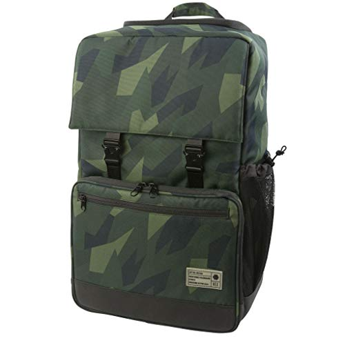 HEX Cinema DSLR Backpack, Ranger Camo, with Back Loading, Tripod Straps, and Adjustable Interior Dividers