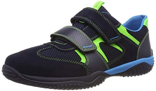 Superfit Herren Storm Sneaker, Blau (Blau/Grün 81), 39 EU