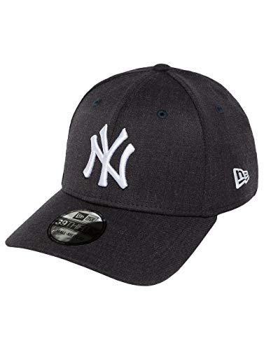 New Era Heather Team 39Thirty Cap NY Yankees Dunkelblau, Size:M/L