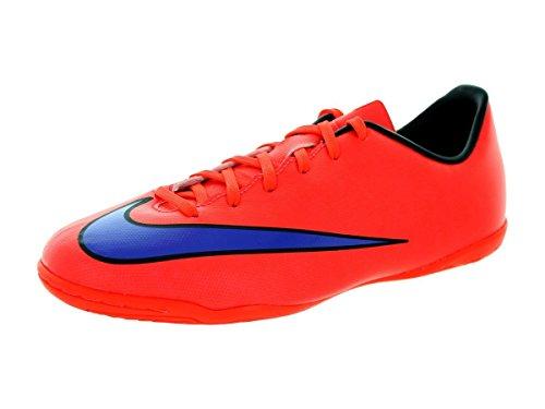 Nike Jr. Mercurial Victory V IC - Botas de fútbol unisex para niños, color Rojo, talla 33.5 EU