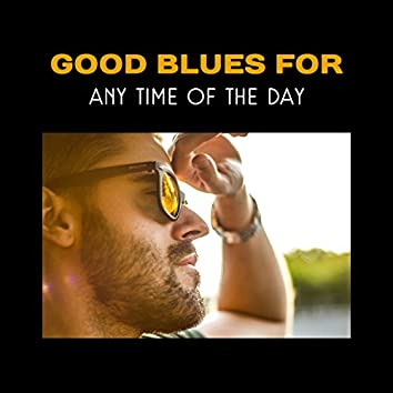 Good Blues for Any Time of the Day – Chill Zone with Blues Music and Black Coffee, Restaurant Background, Positive Attitude and Mood