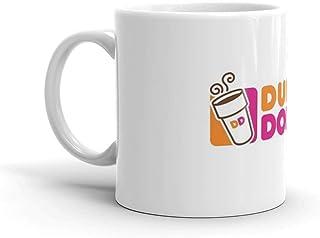 Dunkin Donuts Mug 11 Oz White Ceramic