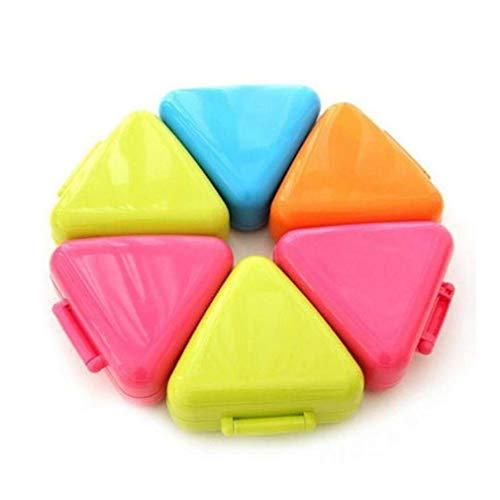 maxgoods 1 STK Popular Dreieck Sushi Form Onigiri Reis Ball Nizza Presse Maker, Zufällige Farbe