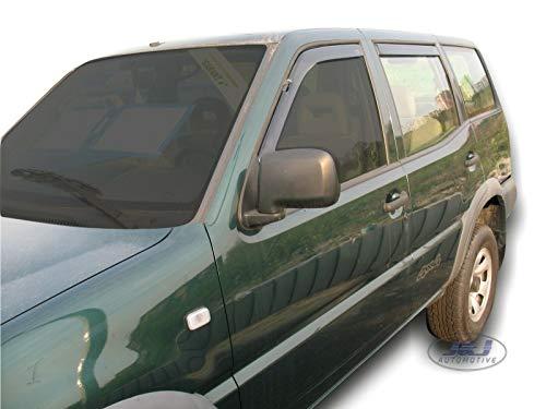 J&J Automotive - Deflectores de viento para Nissan Terrano