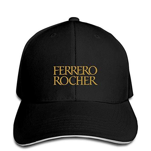 PRWJH Gorras de Exterior para Hombre Gorra de béisbol Sombrero de Chocolate Ferrero Rocher Gorra de Visera