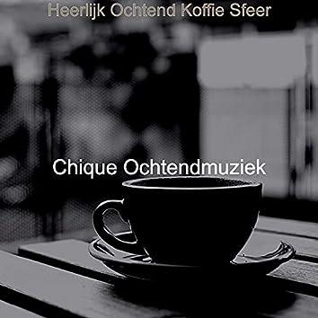 Heerlijk Ochtend Koffie Sfeer
