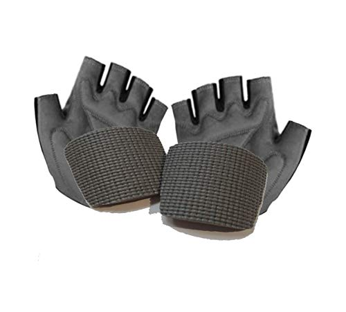 Palm Pads – Best Padded Bike Glove Inserts, Add Extra Cushion Stop Hand Tingling and Numbness. Less Road or Trail Vibration for Smoother Ride Universal Fit Cycling & Mountain Biking Gloves